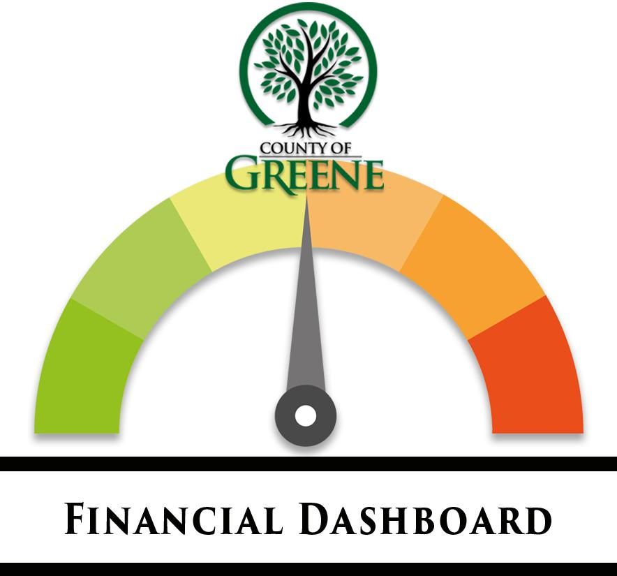 This is the Financial Dashboard for Greene County that contains budget information